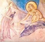 Фреска церкви Успения на Волотовом поле